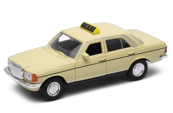 WELLY 1:34 Mercedes-Benz W123 taxi - kremowy