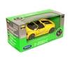 Welly 1:34 Porsche 918 Spyder cabrio -żółty