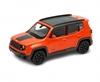 Welly 1:34 Jeep Renegade Trailhawk -pomarańczowy