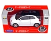 Welly 1:34 Fiat 500C 2010 -biały