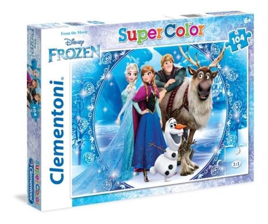 Clementoni puzzle 104 Frozen (27956 CLEMENTONI)