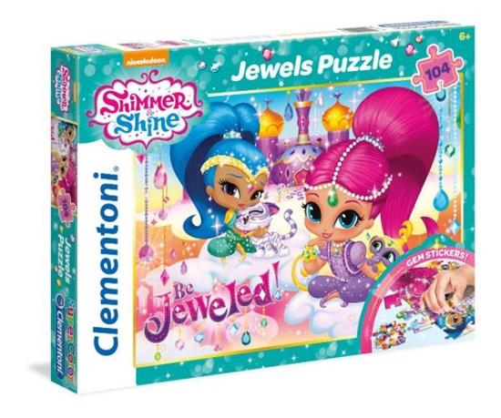 Clementoni Puzzle 104el Shimmer and shine 20143 p6, cena za 1szt. (20143 CLEMENTONI)