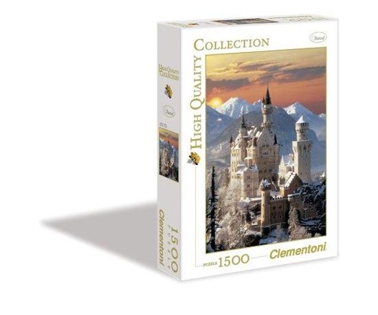 Clementoni Puzzle 1500el Neuschwanstein 31925 p6, cena za 1szt. (31925 CLEMENTONI)