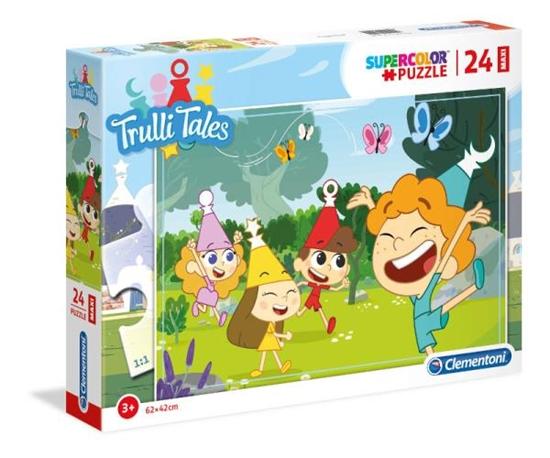Clementoni Puzzle 24el Maxi Trulli Tales 28504 p6 (28504 CLEMENTONI)