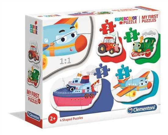 Puzzle Moje pierwsze puzzle Środki transportu (20811 CLEMENTONI)