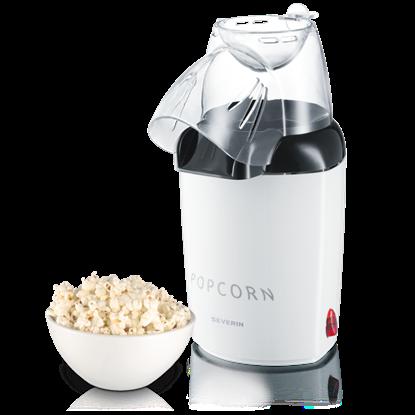 Automat do popcornu, 1200 W, biały