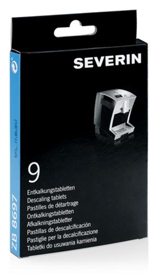 Tabletki odkamianiające SEVERIN 8697 do ekspresów Severin S2  i  S3