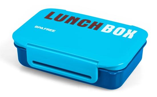 Pojemnik na żywność PROMIS TM98 B Śniadaniówka, LunchBox NIEBIESKI