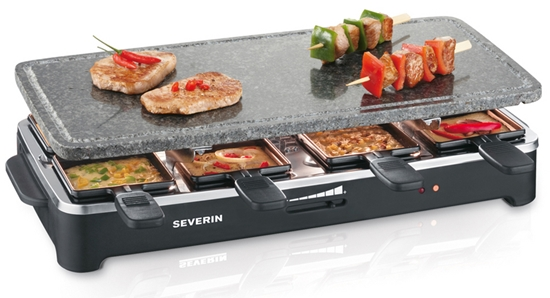 Grill Raclette Party SEVERIN 2343 z płytą z naturalnego kamienia