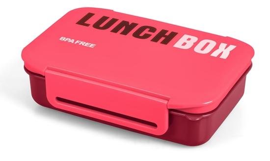 Pojemnik na żywność PROMIS TM98 R Śniadaniówka, LunchBox RÓŻOWY