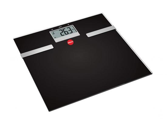 Waga łazienkowa ELDOM TWO130 CZARNY   150kg  Pomiar BMI  tkanki tłuszcowej