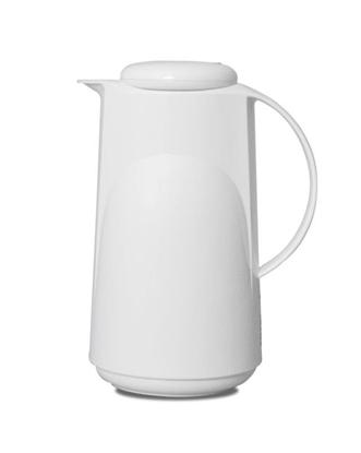 Dzbanek termos ROTPUNKT 300  1,0 l  polar (biały)