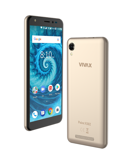 Smartfon Vivax Point X502 Złoty 2GB/16GB