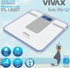Waga łazienkowa Vivax SMART, 9 w 1, bluetooth, API, LED