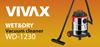 Odkurzacz przemysłowy Vivax 30L, Mokro/Sucho
