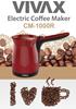 Ekspres elektryczny do kawy Vivax CM-1000R