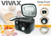 Frytkownica Vivax DF-1800B,Czarny, 1800W,2,5L, Thermo