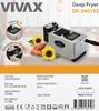 Frytkownica Vivax DF-2003SS 2000W, 3L, Termostat, Inox