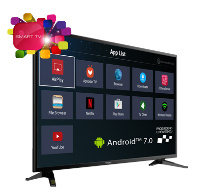 "TV LED 49""  Vivax 49S60T2S2SM ANDROID 8GB DVBT-T2,Wifi,A+"