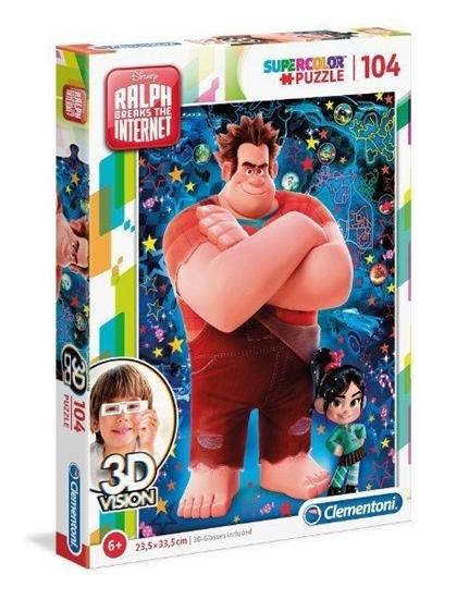 Puzzle 3D Vision 104 el Ralph (20610 CLEMENTONI)