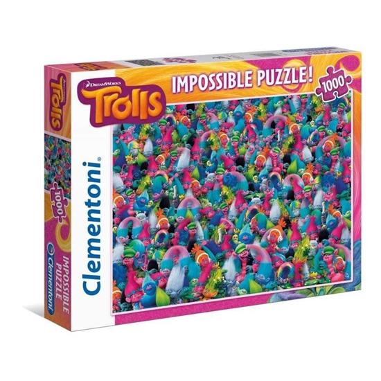 Puzzle 1000 Impossible Trolls (39369 CLEMENTONI)
