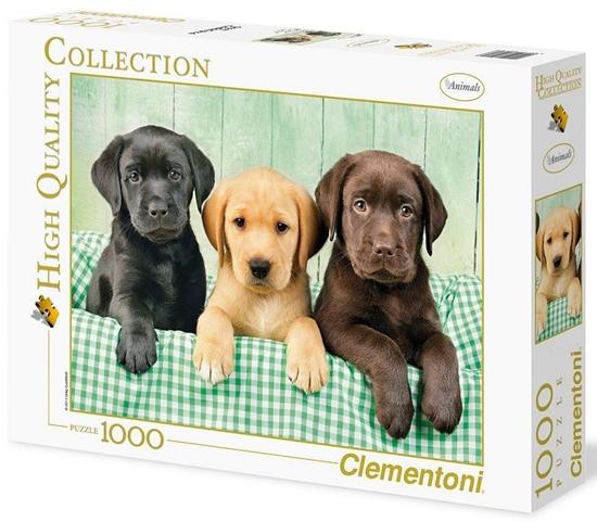 Puzzle 1000 HQ I tre Labrador (39279 CLEMENTONI)