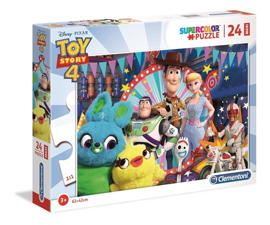 Puzzle 24 Maxi Super kolor Toy story 4 (28515 CLEMENTONI)