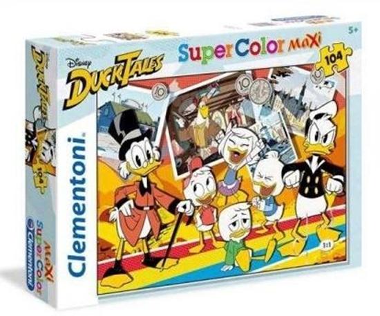 Puzzle 104 Maxi Super Color Duck Tales (23718 CLEMENTONI)