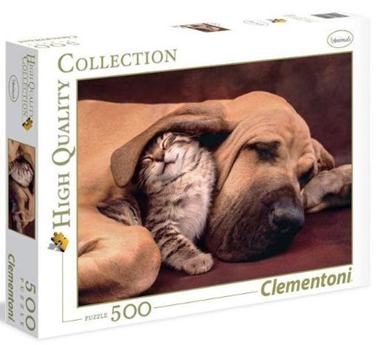 Puzzle 500 HQ Cuddles (35020 CLEMENTONI)