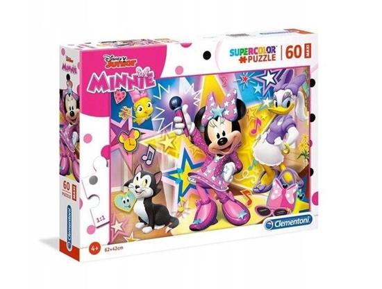Puzzle 60 Maxi Super kolor Minnie happy helpers (26443 CLEMENTONI)
