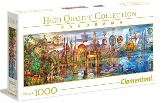 Puzzle 1000 Fantasy Panoramic (39424 CLEMENTONI)