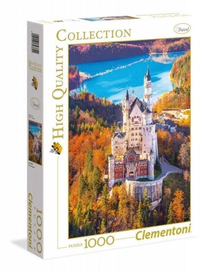 Puzzle 1000 Neuschwastein (39382 CLEMENTONI)