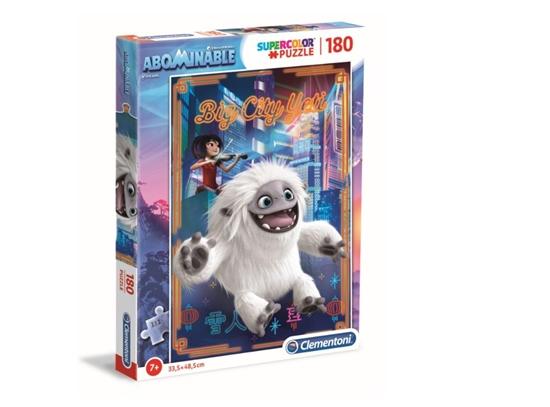 Puzzle 180 Super kolor Abominable (29766 CLEMENTONI)