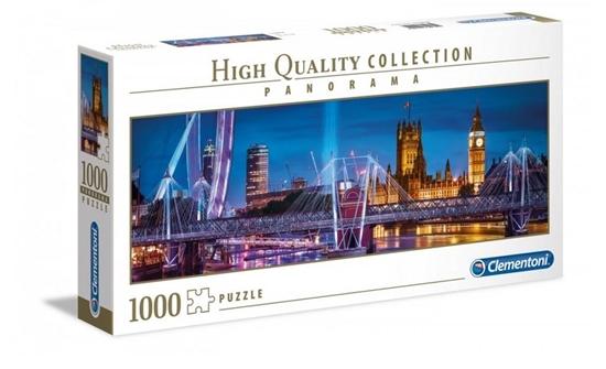 Puzzle 1000 panorama HQ London (39485 CLEMNTONI)