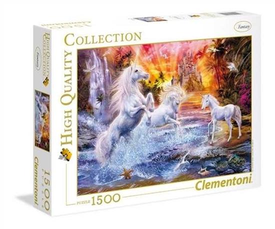 Puzzle 1500 Wild Unicorns (GXP-629942)