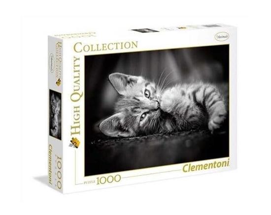 Puzzle 1000 Kitty (39422 CLEMENTONI)