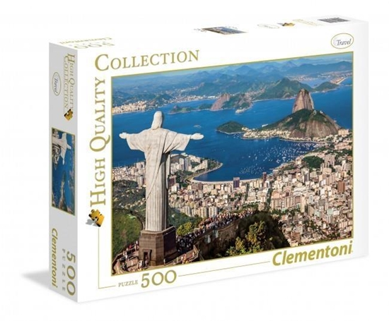 Puzzle 500 HQ Rio de Janeiro (35032 CLEMENTONI)