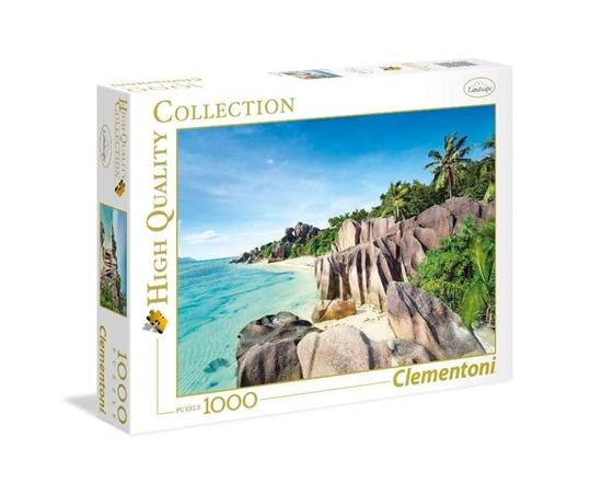 Puzzle 1000 HQ Paradise Beach (39413 CLEMENTONI)