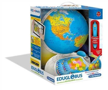 Interaktywny EduGlobus. Poznaj Świat (60444 CLEMENTONI)