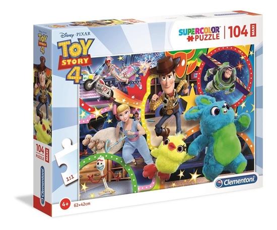 Puzzle 104 Maxi Super Kolor Toy story 4 (23740 CLEMENTONI)