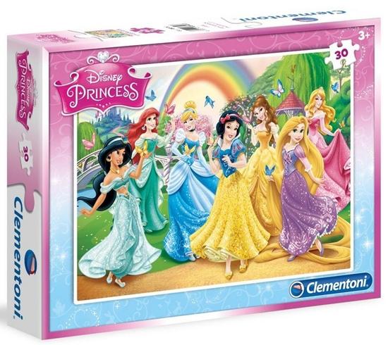 Puzzle 30 Księżniczki (08503 CLEMENTONI)