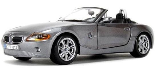 BMW Z4 1:24 szary BBURAGO (18-22002)