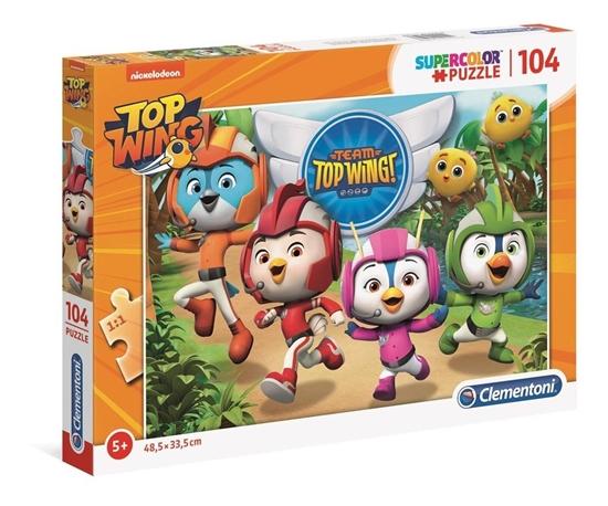 Puzzle 104 Super kolor Top Wing (27128 CLEMENTONI)