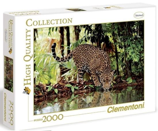 Puzzle 2000 HQ Leopard (32537 CLEMENTONI)