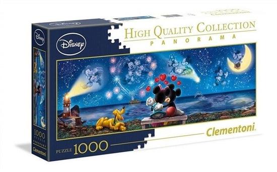 Puzzle 1000 Panorama Mickey & Minnie (39449 CLEMENTONI)