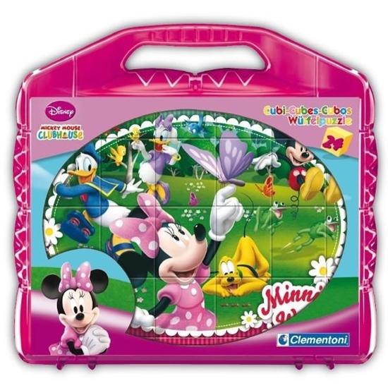 Klocki Cubes 24 Minnie (42416 CLEMENTONI)