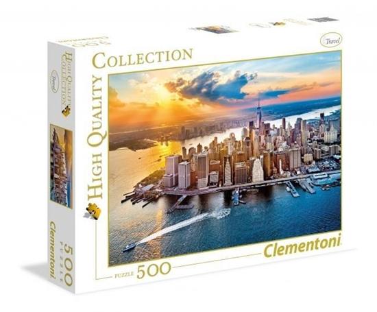 Puzzle 500 HQ New York (35038 CLEMENTONI)