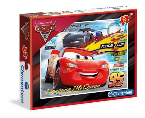 Puzzle 30 Cars (08513 CLEMENTONI)