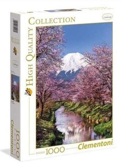Puzzle 1000 Fuji Mountain (39418 CLEMENTONI)