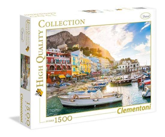 Puzzle 1500 HQ Capri (31678 CLEMENTONI)